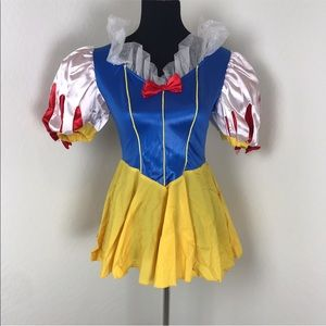 Leg Avenue Sexy Snow White Halloween Costume Dress